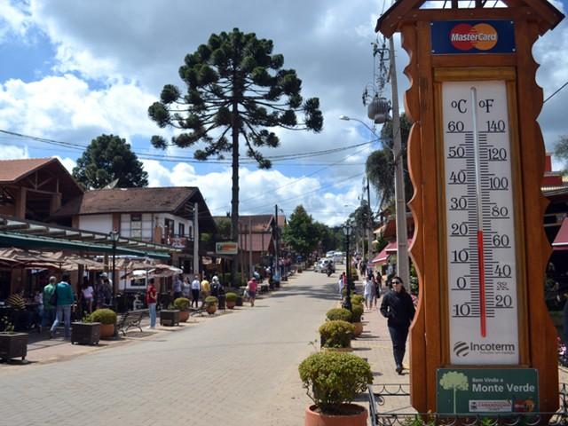Madrugada tem geada e temperatura negativa em Monte Verde, MG - Muzambinho.com