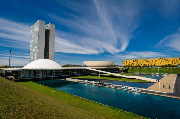 National,Congress,On,A,Sunny,Day,In,Brasília,,Df,,Brazil